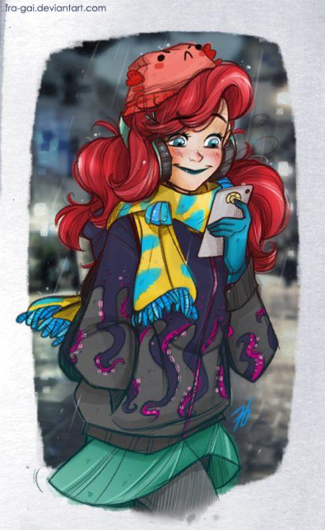 The little mermaid by fra-gai
