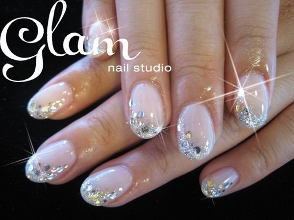 Bedazzled nails .. love em!    glam nail studio