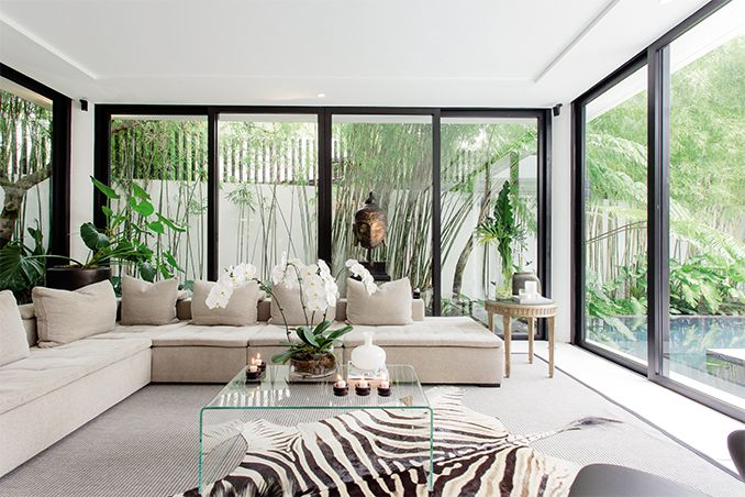 The singer and architect start a new life together in their three-storey house in Makati