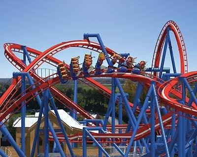 Worlds of Fun outside of Parsons, Kansas where we lived for the summer while Daddy built a water tower. Happy Memories.