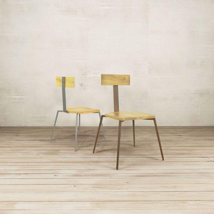 Linee semplici per SPIDERWOOD, una seduta in legno naturale e ferro. La parte inferiore richiama l'anatomia di un ragno mentre la seduta e il particolare schienale sono in essenze di legno. La sedia è impilabile e indicata per ambienti privati ma anche per locali e ristoranti di alto livello che vogliono distinguersi per eleganza e originalità. #nature #wood #rinovodesign #objects #home #design #naturaldesign #spiderwood #sedieinlegno #sedie#oggettioriginali