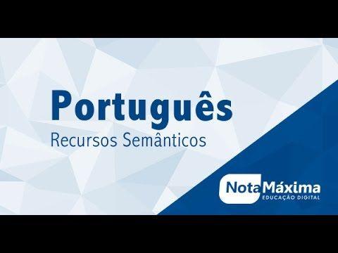 Videoaula de Português - Recursos Semânticos: sinonímia, antonímia, homonímia, paronímia e outros - YouTube
