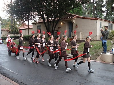 I want to do this next year for our Reindeer Run!