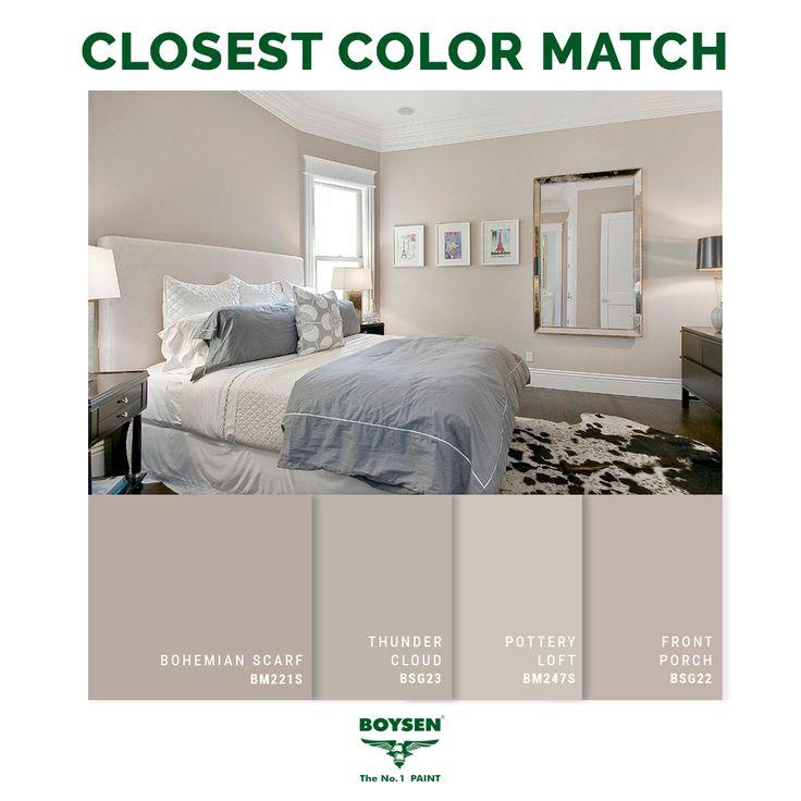 Bohemian Paint Colors: 78 Best BOYSEN Closest Color Match Images On Pinterest