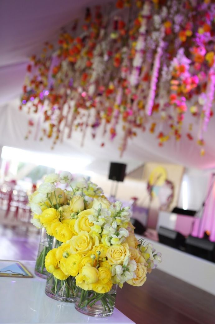 A Floral Explosion, Bat Mitzvah by Team Event