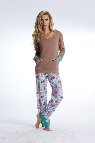 Piżama bluzka + spodnie PD-4003