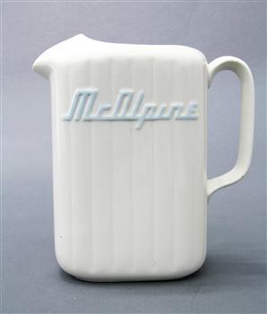 Crown Lynn refrigerator jug | Museum of New Zealand Te Papa Tongarewa