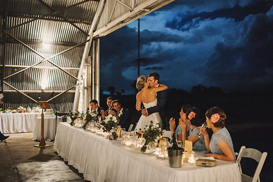 Rachel and Simon's Chic Air Hangar Wedding