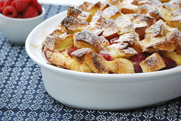 Ina Garten Casserole check out baked raspberry french toast. it's so easy to make