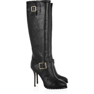 Jimmy Choo Gaige leather knee boots: Knee High Boot