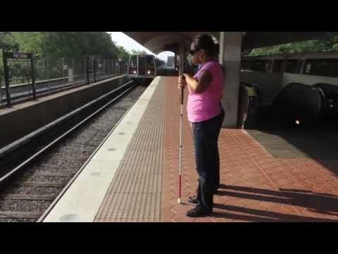 Columbia Lighthouse for the Blind: Click and Go DC Metro Wayfinding Project - YouTube