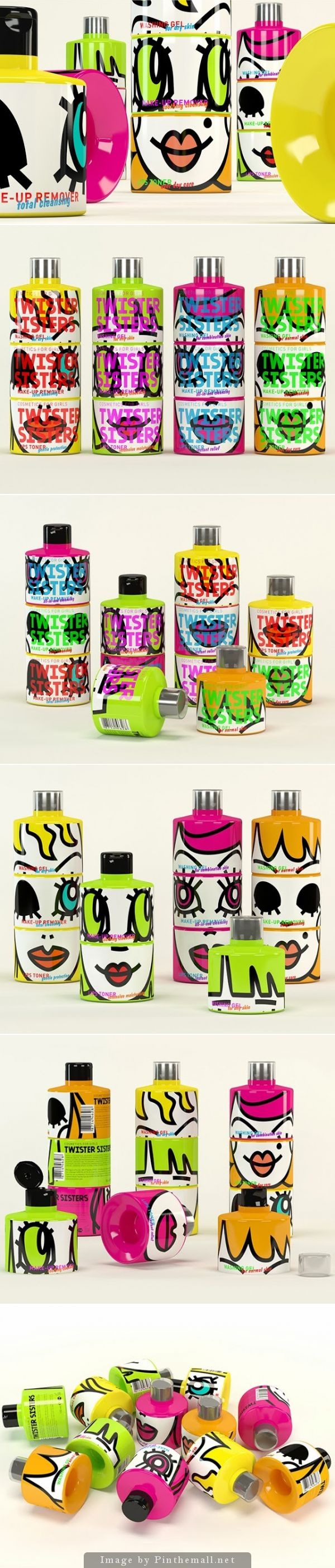 Twister Sisters I would buy this just for the packaging curated by Packaging Diva PD : )
