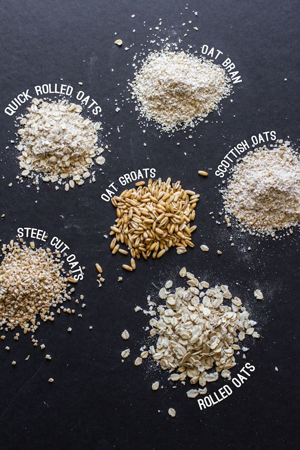 If you've ever been curious about the various types of oats you've seen at the store, this post will teach you everything you need to know and then some. From oat bran to quick rolled oats, you'll learn all the details to help distinguish between the different varieties and help you choose which is the right oat for you!