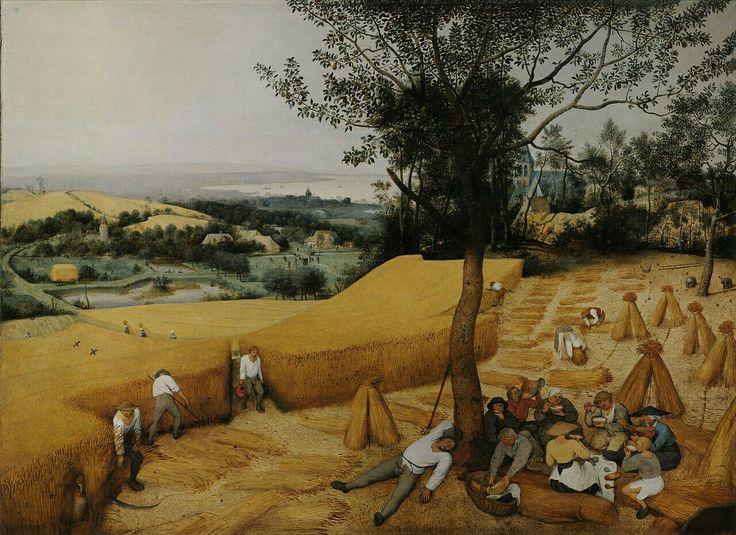 """Pieter Brueghel l'Ancien : """"La moisson"""""""