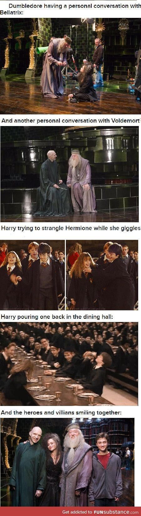 Things you won't see on Harry Potter part 1