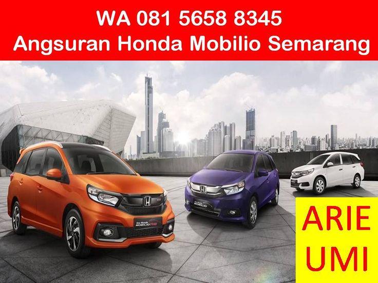 WA 081 5658 8345, Angsuran Honda Mobilio Semarang, Harga Mobil Berbeda Beda Sesuai Model, Type Dan Promo Yang Sedang Berlaku INFO LENGKAP TELP / WA 081 5658 8345 (Indosat) Arie Umi