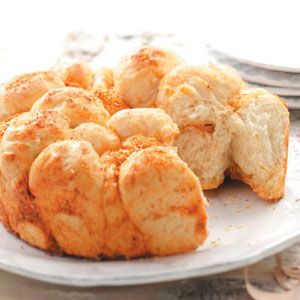 "Herbed Monkey Bread Recipe (from the ""How To"" link). I want to try it using refrigerated biscuits like I do for ""regular"" monkey bread."