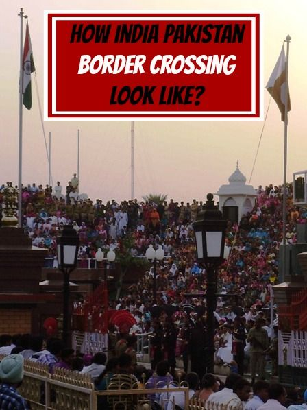 How crazy India-Pakistan border crossing ceremony look like? More: http://www.pathismygoal.com/how-india-pakistan-border-crossing-ceremony-looks-like/