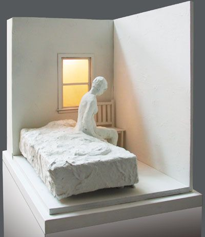 George Segal made me want to be a sculptor. I went another way, but still, I love his work.