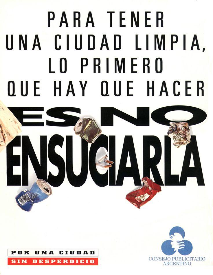 """""""Ciudad limpia""""- 1995"""