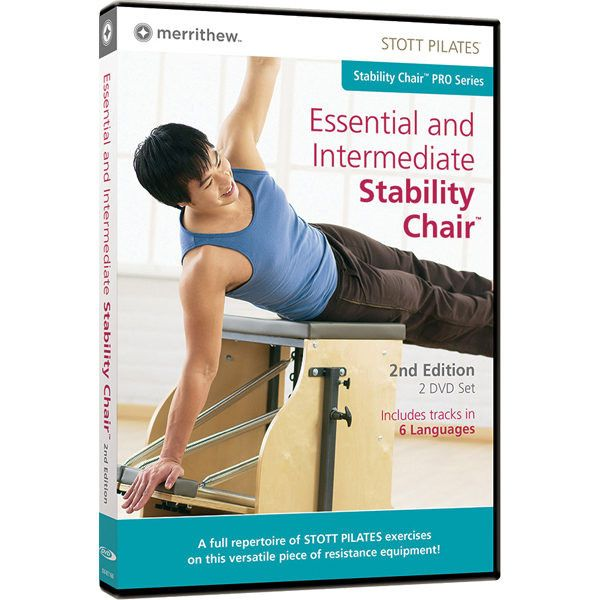 Why We Love the Essential & Intermediate Stability Chair DVD Merrithew trains some of the best Pilates instructors in the world, and for a fraction of the price, you can get private training in the co