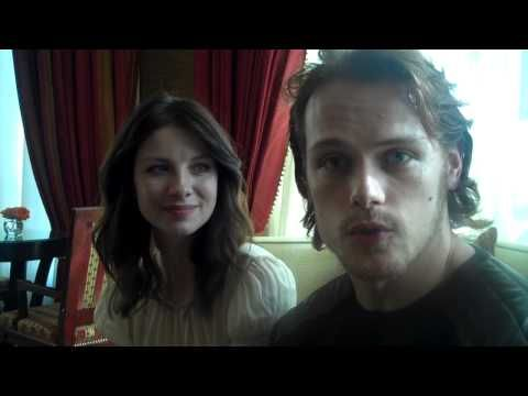 "Caitriona and Sam talk about Outlander▶ ""Outlander"" - YouTube"