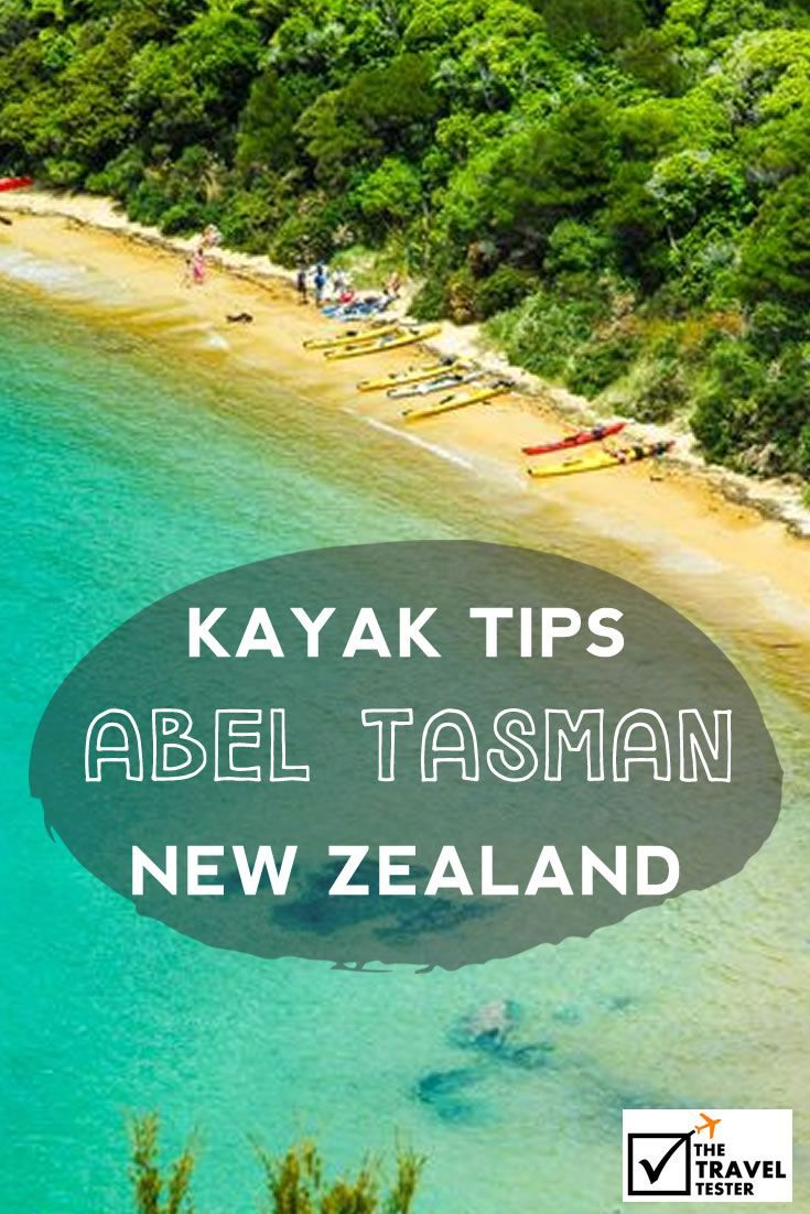 Our best tips for a Kayak trip in the Abel Tasman National Park on the South Island of New Zealand with The Sea Kayak Company | The Travel Tester: