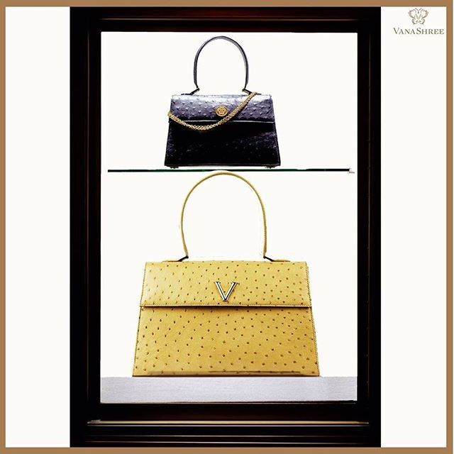 The perfect timeless and classic pair #MiniV #ClassicV #ExoticElegance #LuxuryHandbag