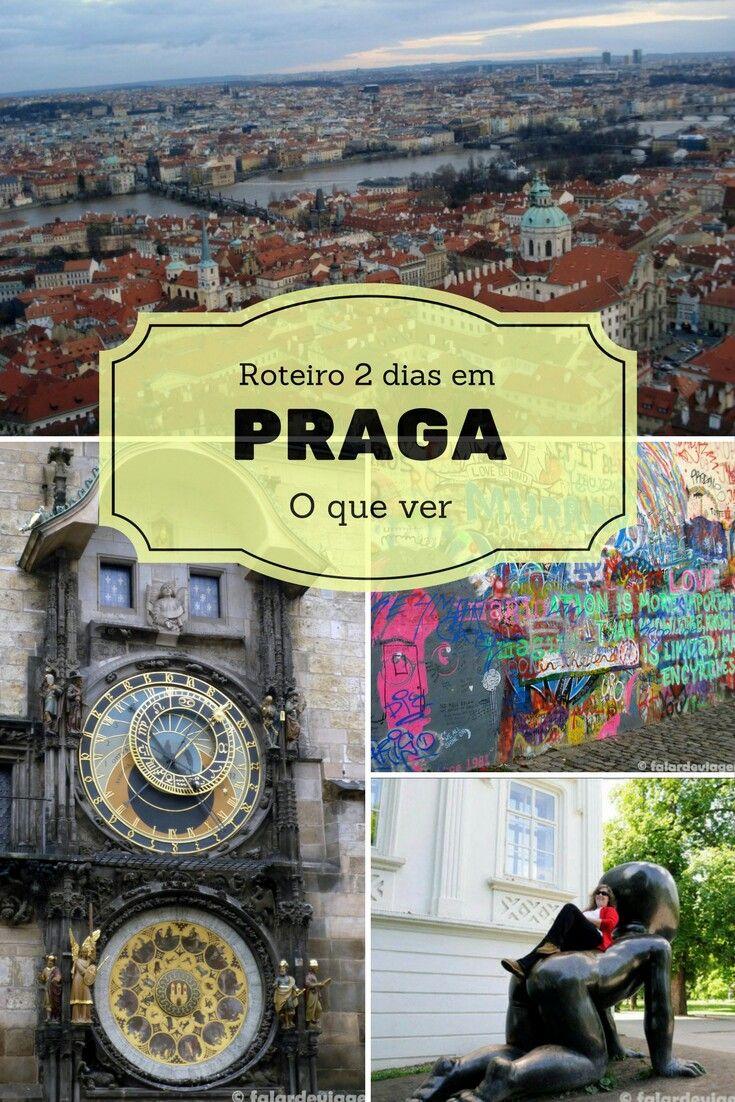 Praga, capital da República Checa é uma cidade maravilhosa que merece ser visitada. Dois dias são suficientes para conhecer os locais mais turísticos. Vamos?