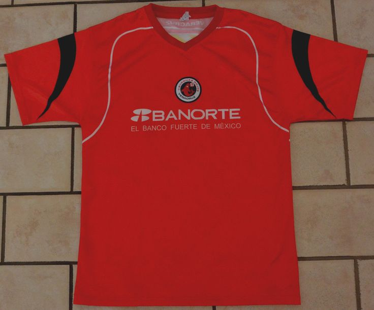 TIBURONES ROJOS Veracruz Futbol Soccer Jersey Shirt MEDIUM / Small Red MEXICO