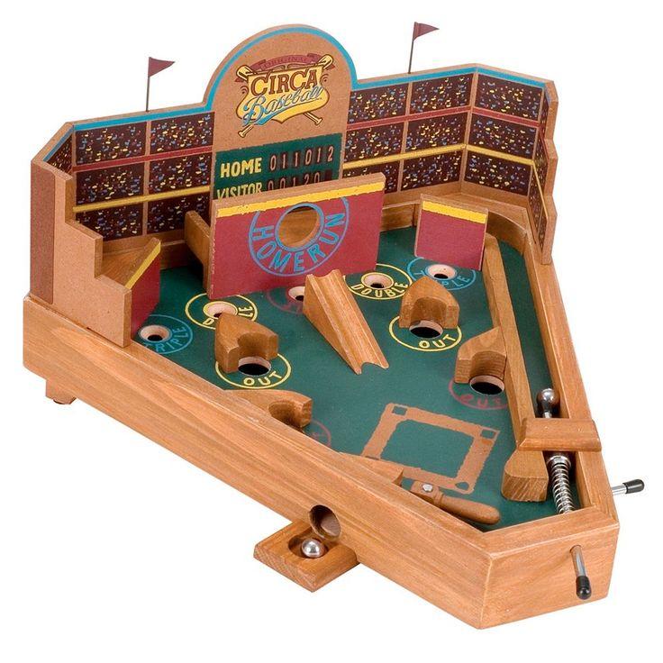 Circa Baseball Pinball Game, Multicolor