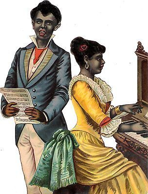 A nice portrayal of a Black Victorian couple. Glanzbilder