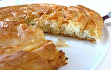 Greek 'snail' cheese pie (Kichi Kozanis)-2