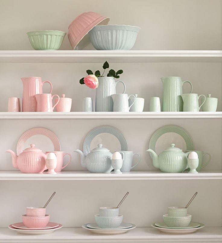 Výsledek obrázku pro porcelán pastelové barvy
