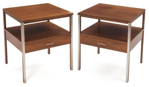Mid-century end tables