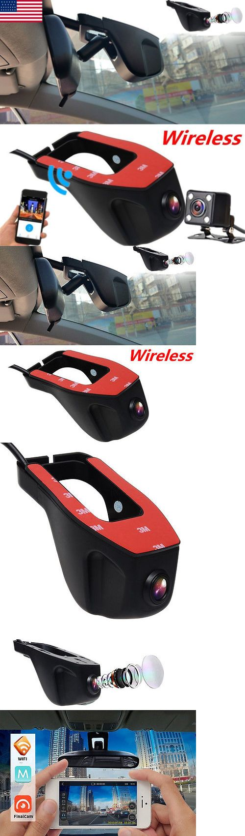 Digital Video Recorders Cards: 1080P Hd Hidden Wifi Car Dvr Camera Dash Video Recorder G-Sensor Night Vision Us -> BUY IT NOW ONLY: $49.99 on eBay!