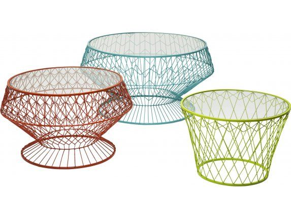 Stolik Kawowy Wire Colore (3/Set)