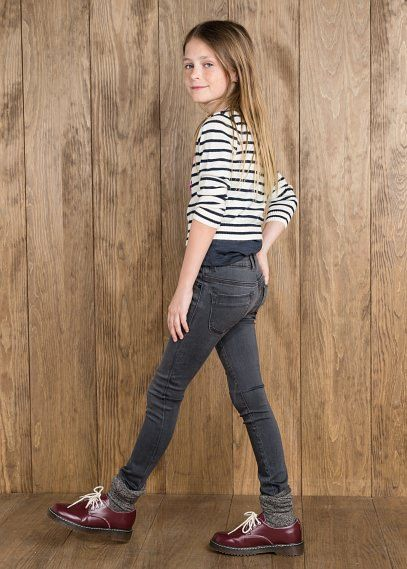 NEW - Grijze skinny jeans