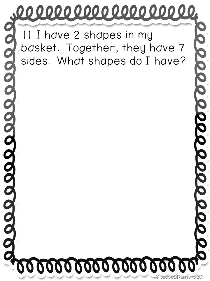 Do you need to get your kids solving problems and explaining their thinking without looking for that one right answer? Try this set of Geometry math journals! Students work on these journal prompts independently, with a partner, or small groups. A majority of the prompts focus on open ended problem solving, so students will have multiple different answers. After solving the problem and showing their ideas, students learn the importance of being able to explain and justify their thinking.