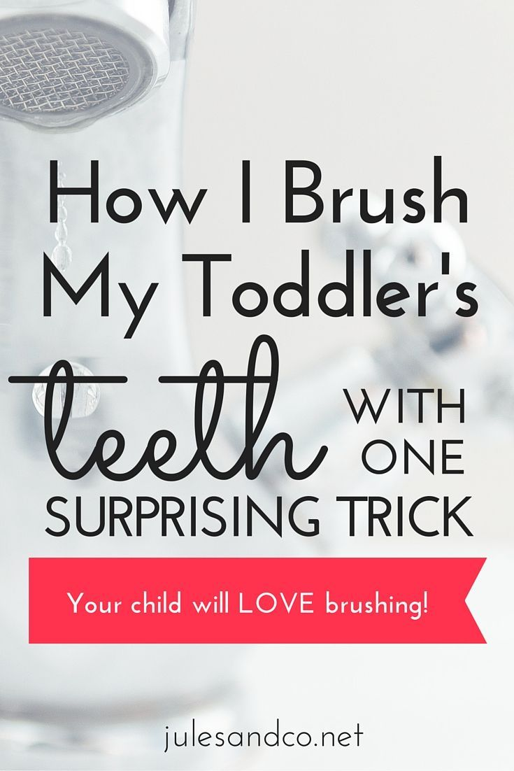 Do you dread tooth-brushing battles with your toddler? I've got a