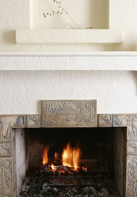 17 best images about fireplace tile on pinterest sacks for Arts and crafts tile fireplace