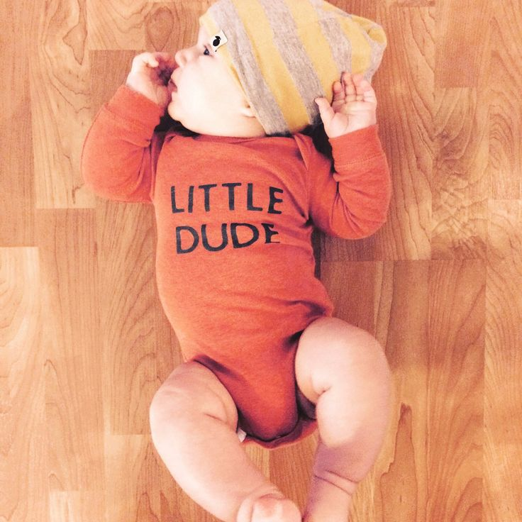 Little Dude baby bodysuit, baby clothes, baby boy clothes, baby shower gift by Twelve20Designs on Etsy https://www.etsy.com/listing/227061719/little-dude-baby-bodysuit-baby-clothes