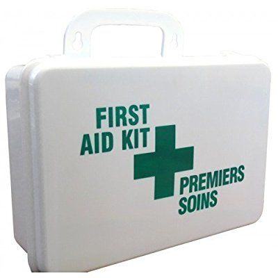 Bilingual-Canadian Workplace First Aid Kit-Quebec Regulation First Aid Kit -1-50 Employee Medical Kit