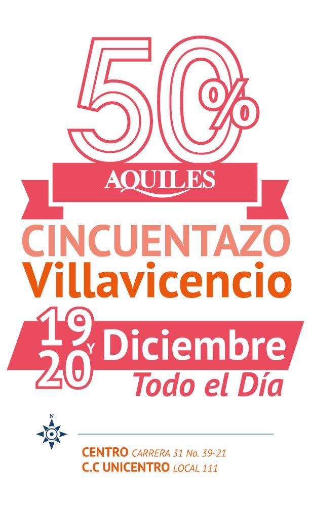 Cincuentazo Villavicencio, 19 y 20 de Diciembre 2014 todo el día.