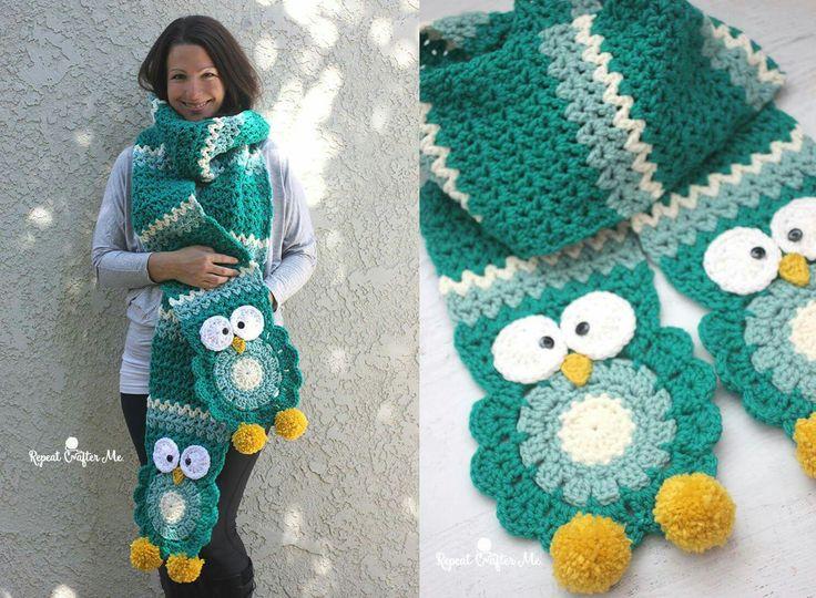 Mejores 43 imágenes de Scarfs & Hats Crocheted en Pinterest ...