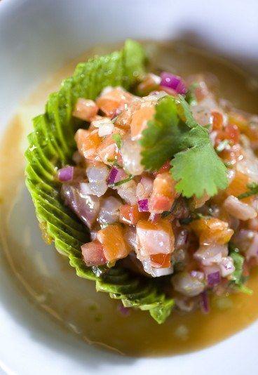 Le saumon, un poisson gras qui regorge d'omégas 3. A déguster cru, comme ici, en tartare.