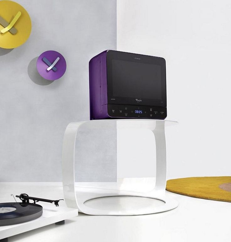 Purple Microwave Takes It To The Max Kbzine