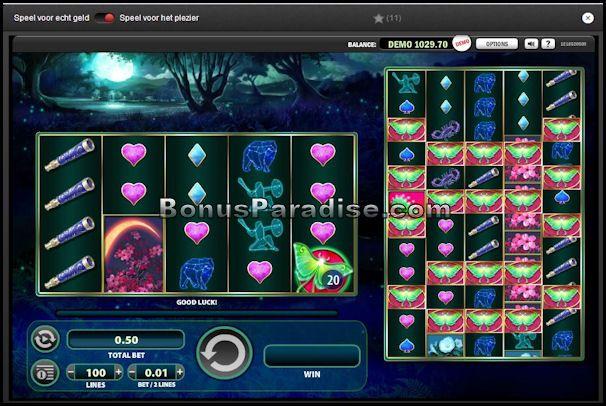 Lunaris - Online Video Slot van WMS