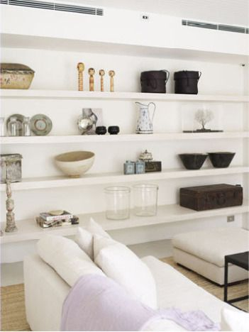 long horizontal shelves - Australian interior design duo Leibowitz & McLachlan from LeibowitzAndMcLachlan.com