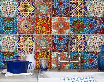 78 ideen zu gr ne fliesen auf pinterest k chenfliesen marokkanische k che und marokkanische. Black Bedroom Furniture Sets. Home Design Ideas